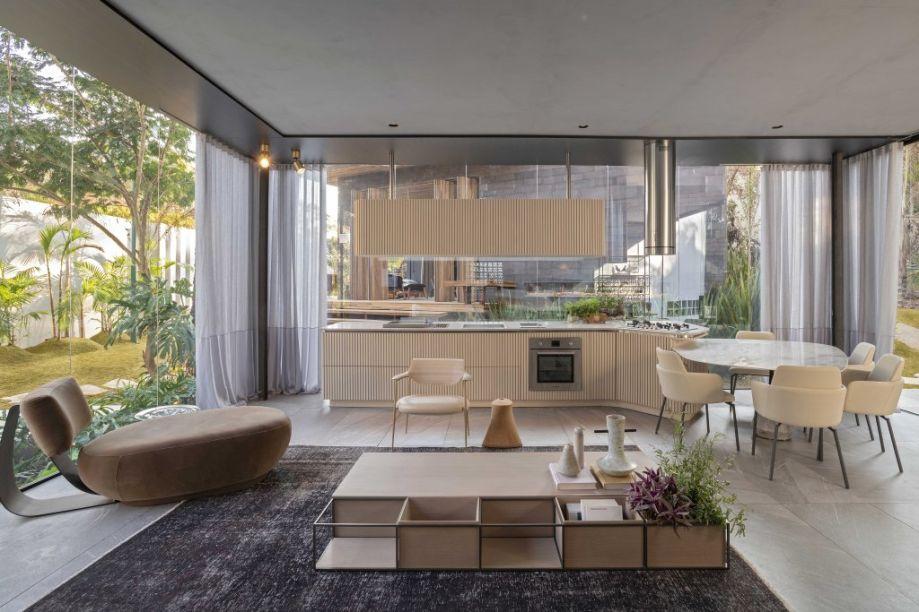 Casa do Eucaliptos, por Janaína Pacheco e Maurício Bonfim - CASACOR Minas Gerais 2019