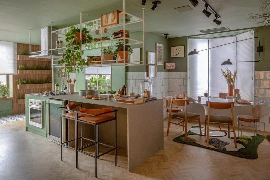 Cozinha Alecrim, por Beta Arquitetura - CASACOR Rio de Janeiro 2018