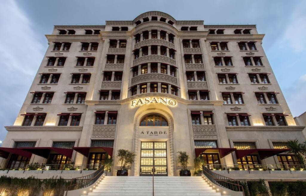 Hotel Fasano pós restruturação em Retrofit