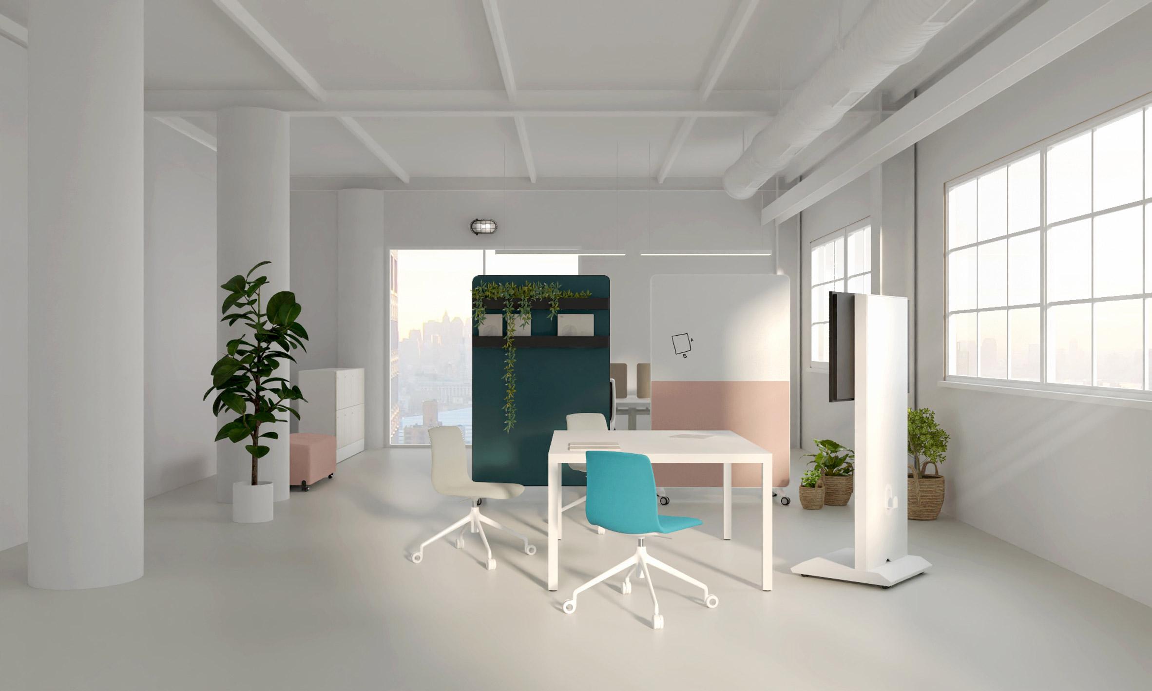 design mobiliário escritório actiu agile decoração interiores
