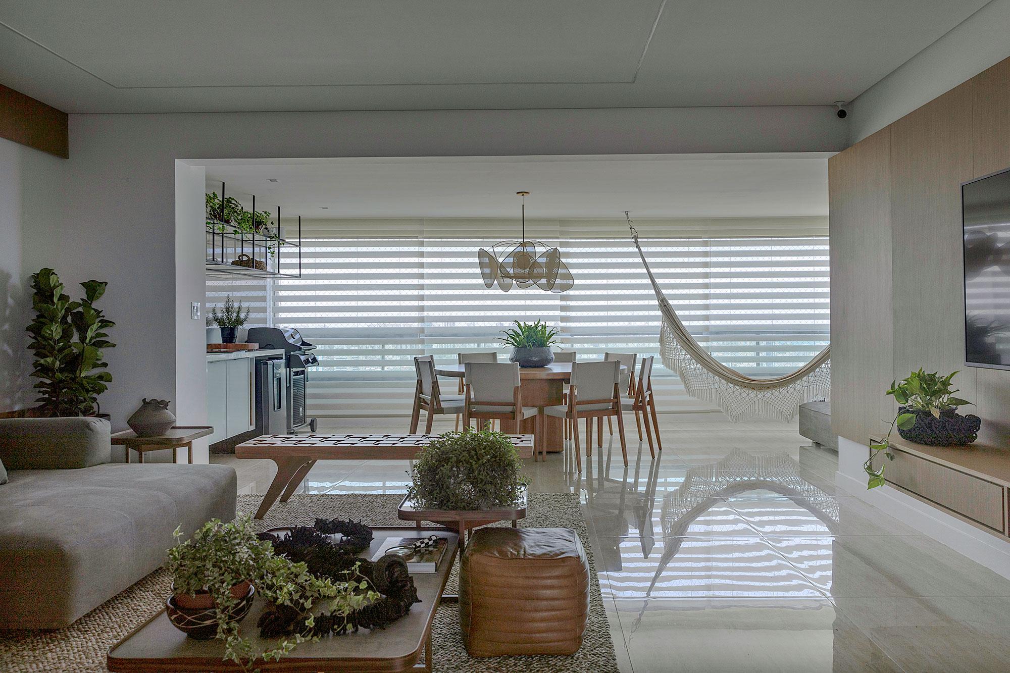 apartamento bambu jessica araújo casacor clean decoração interiores casa rede vista