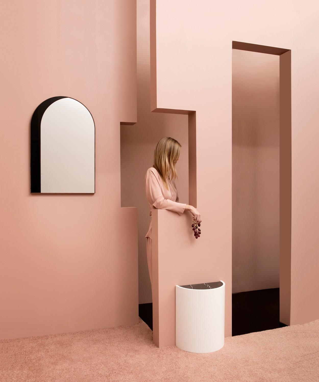 bower studio espelho arch ilusão de otica