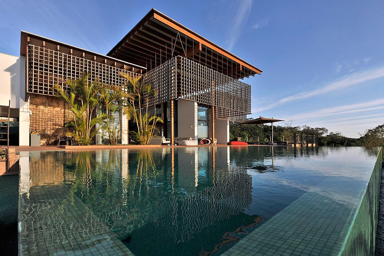 casa no quinta da baroneza candida tabet arquitetura casa construção piscina projeto luxo residência são paulo casacor elenco