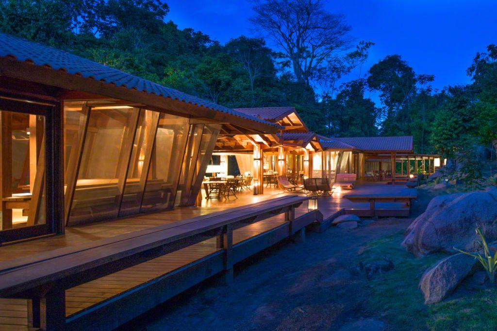 Cristalino Lodge hotel sustentável na Amazonia