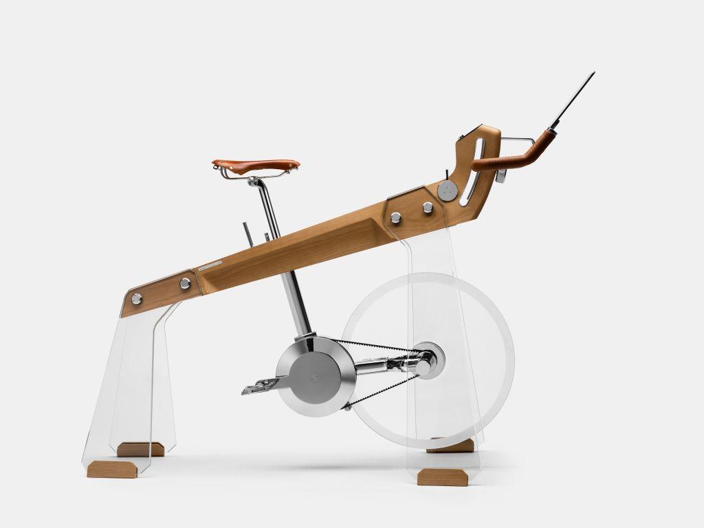 Bicicleta ergométrica é feita como peça de design de luxo