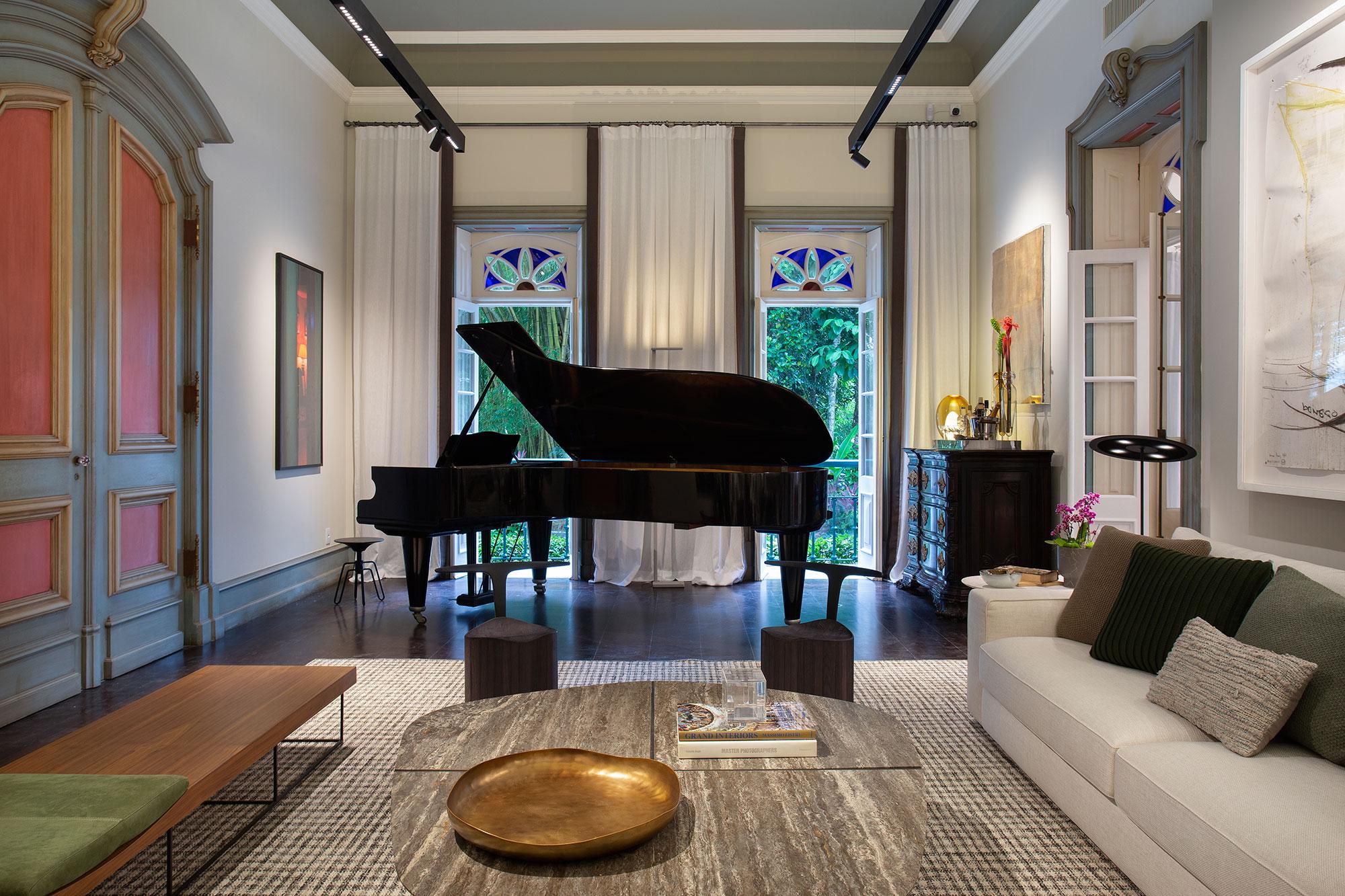 luiz fernando grabowsky sala do piano casacor rio de janeiro 2021 foto denilson machado