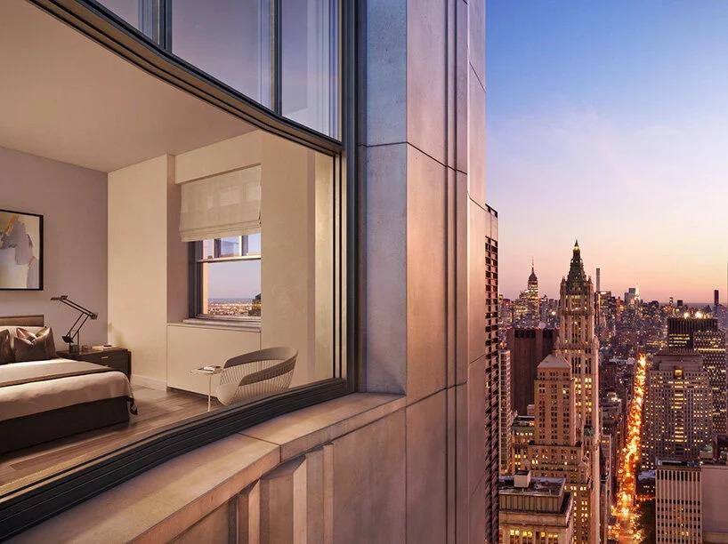 novo prédio residencial; nova york; One Wall Street