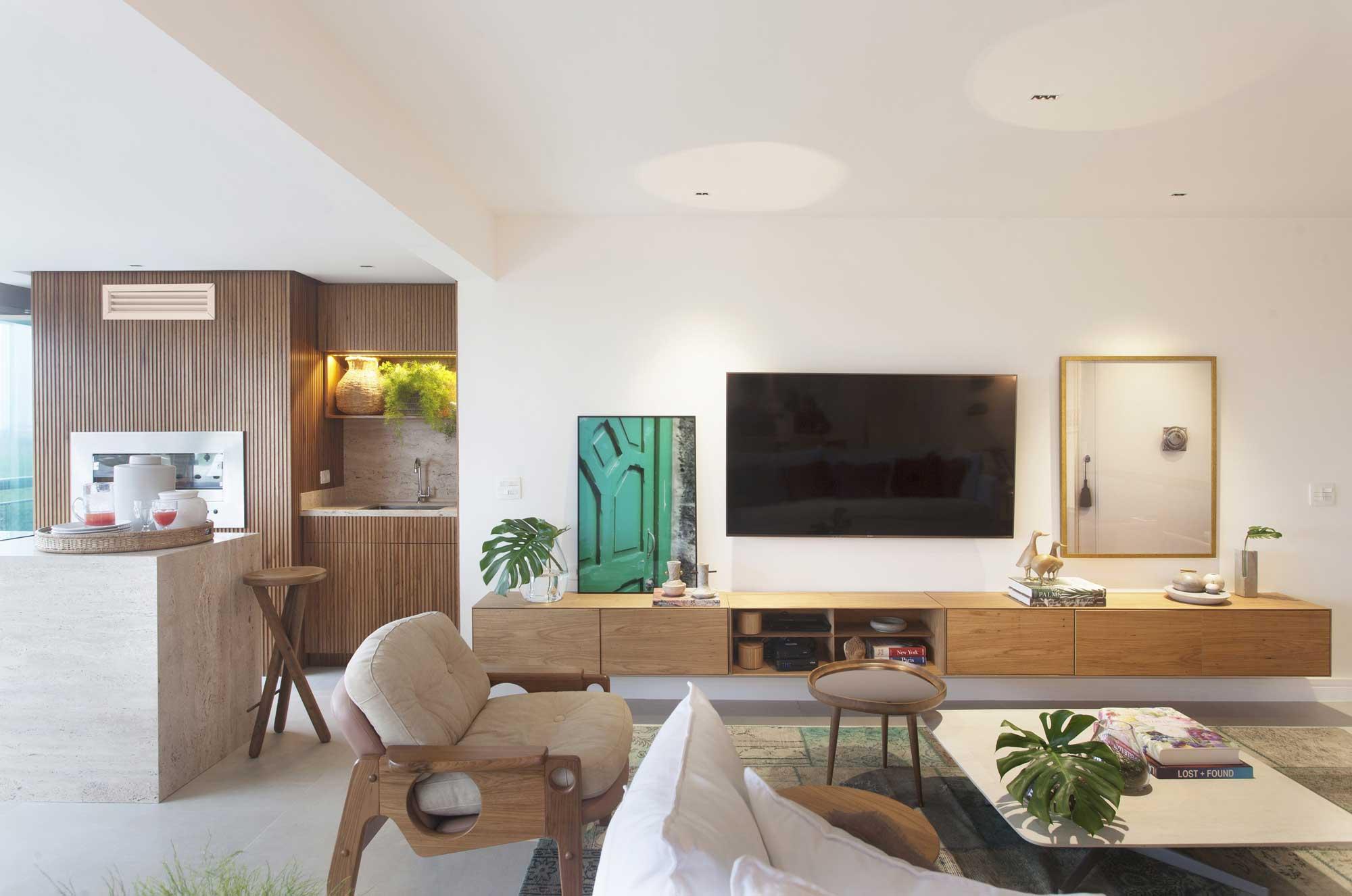 Paola Ribeiro projeta apartamento da apresentadora carioca Vivi Guimarães