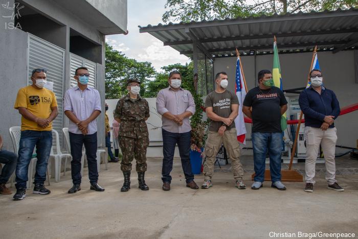 Usina de oxigênio; amazonas; rio negro; pandemia; povo indígena; São Miguel da Cachoeira