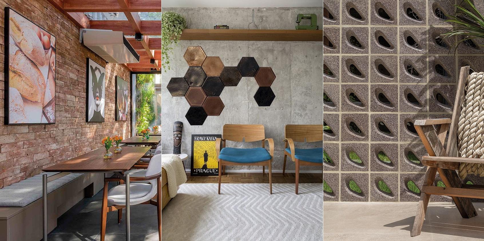 5 revestimentos de piso e parede feitos a partir de resíduos