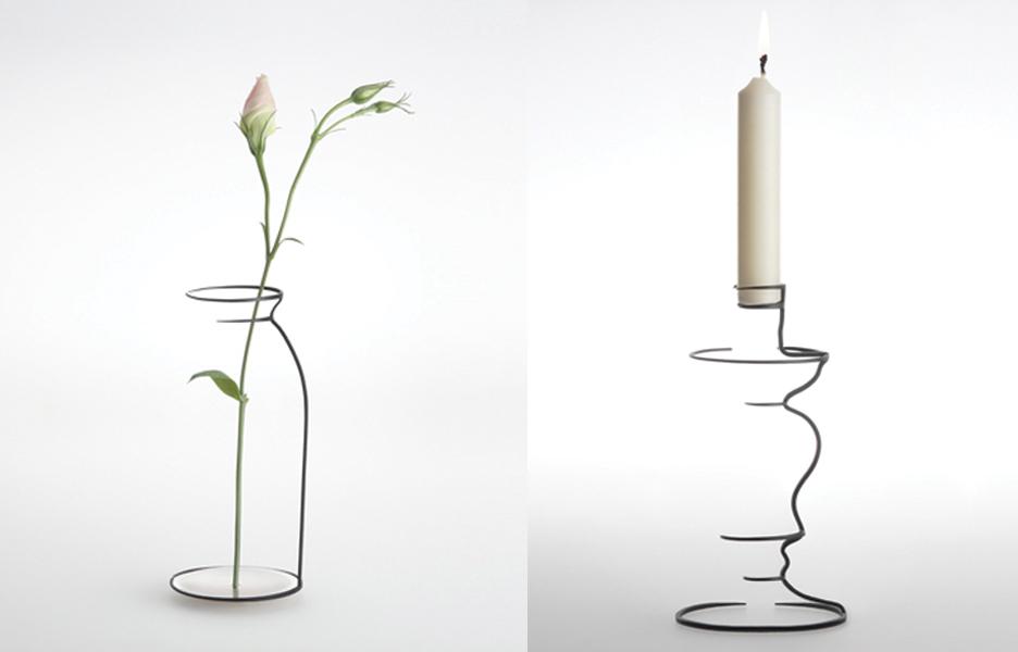 ilusão de otica vaso minimalista maya selway
