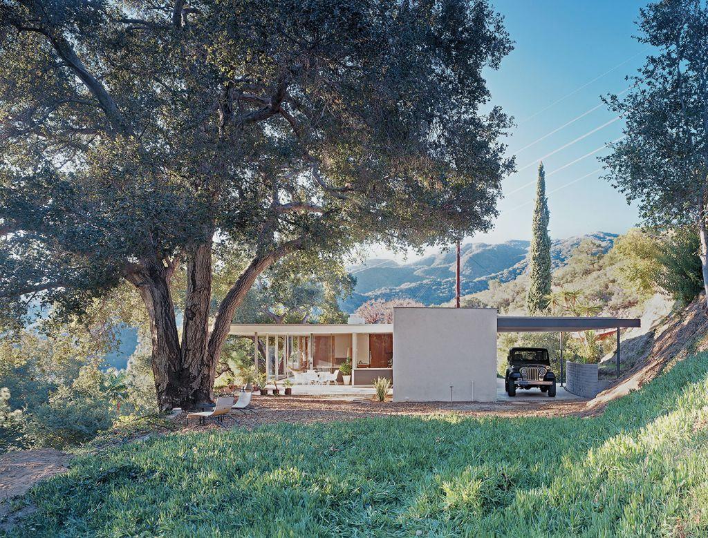The Taylor House, 1961, LA, EUA - Richard Neutra