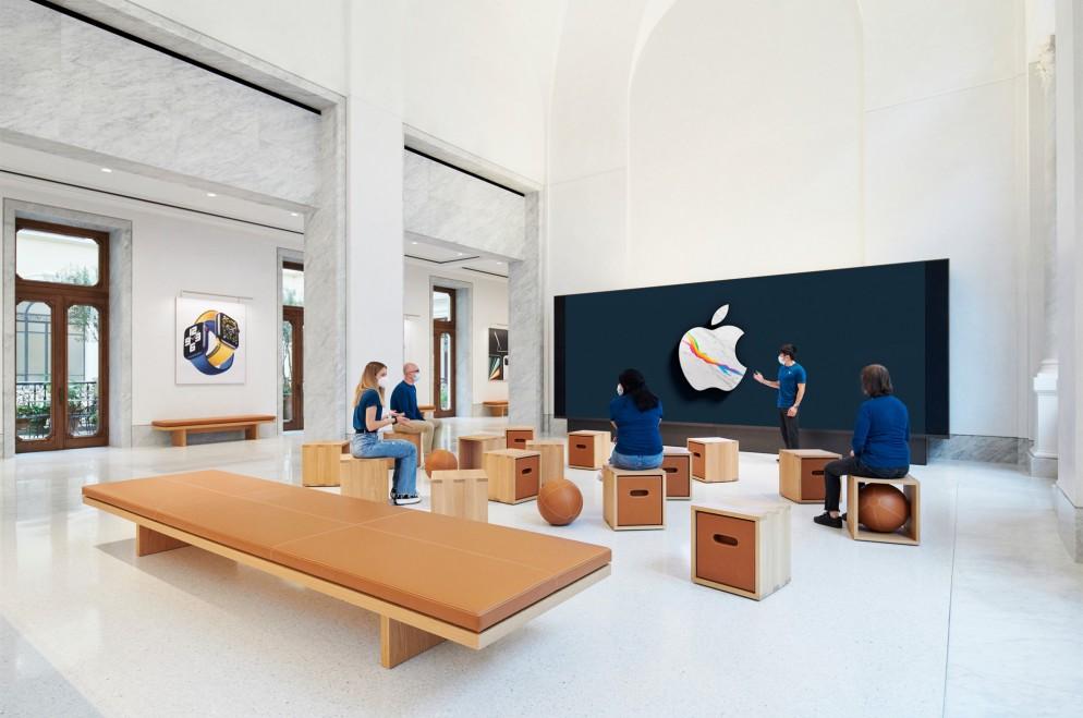 nova loja da Apple Palazzo Marignoli