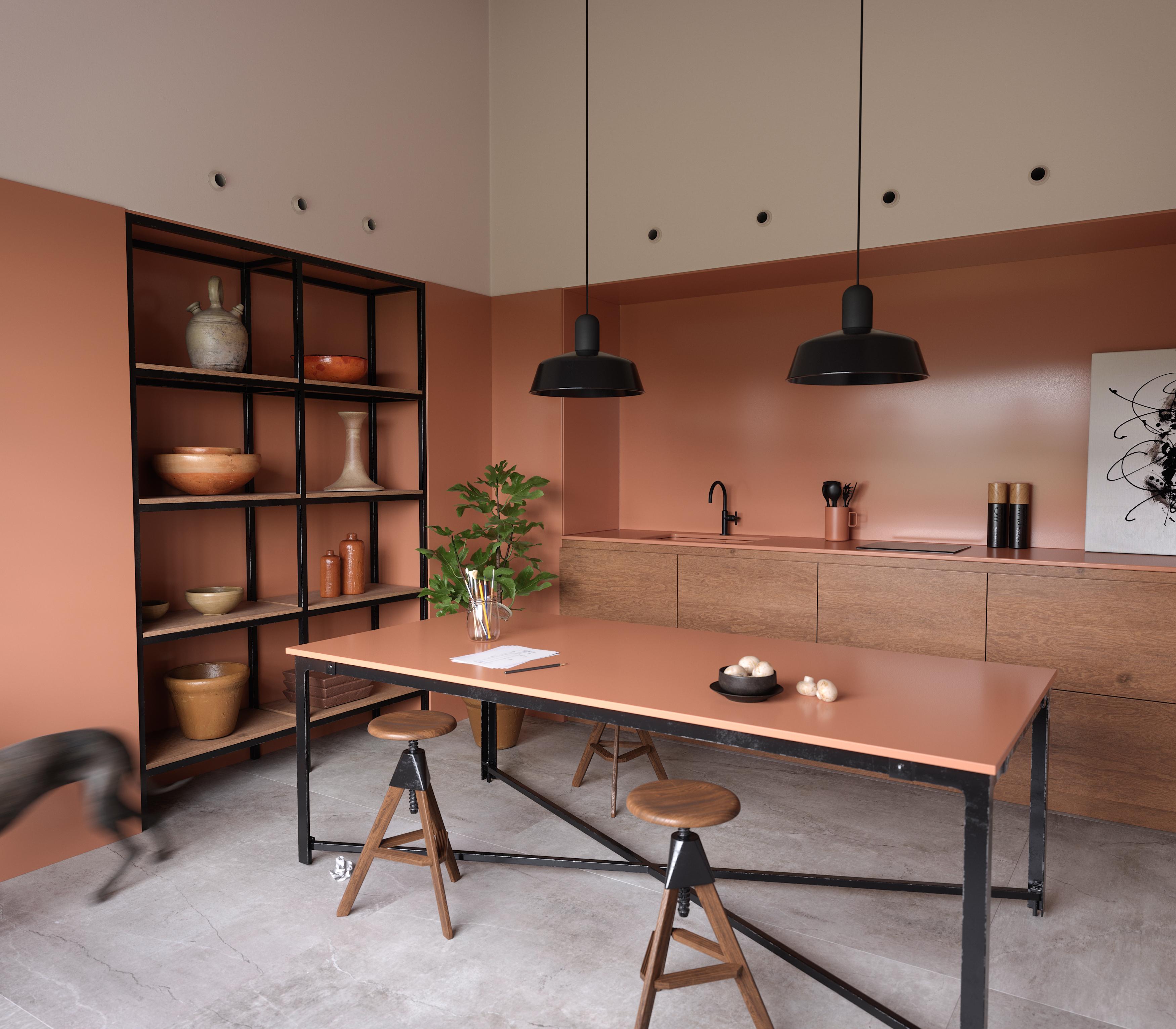 silestone cosentino novas cores baseadas na história de pessoas reais cozinha bancada madeira ilha decoração mesa de jantar