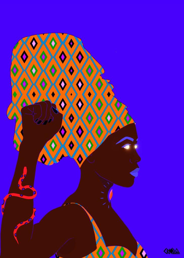 artista; criola; exposição; mulheres negras; cores; pinturas