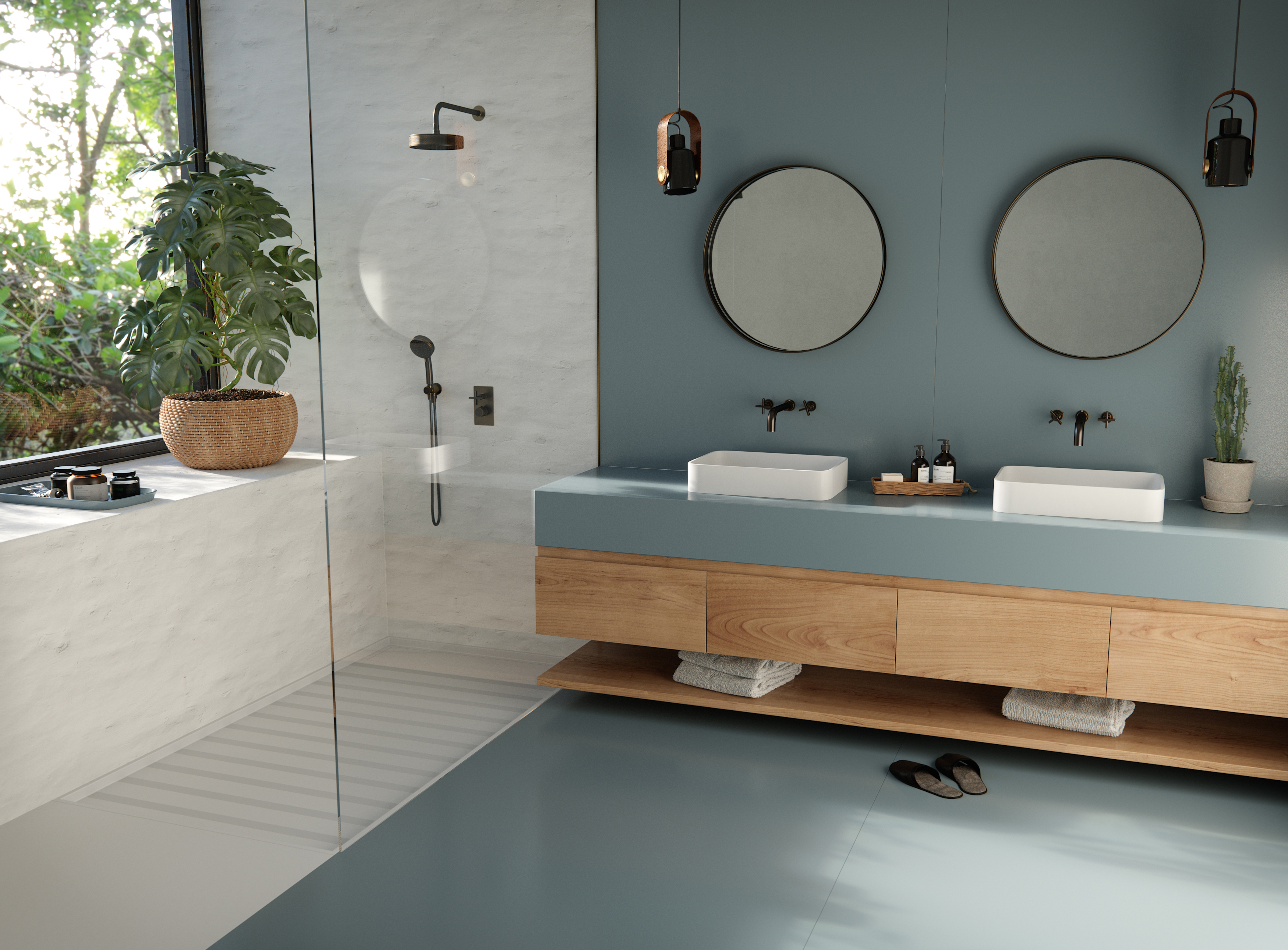 silestone cosentino novas cores baseadas na história de pessoas reais banheiro madeira decoração espelho