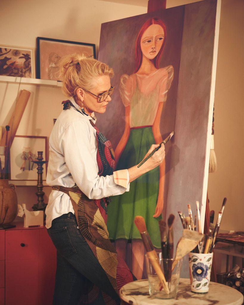 Claudia Liz; artista; arte; pintura; mulheres artistas; exposição; são paulo