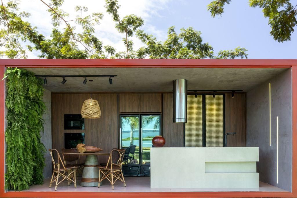 Lucivânia Castro; janelas casacor tocantins; cozinha gourmet