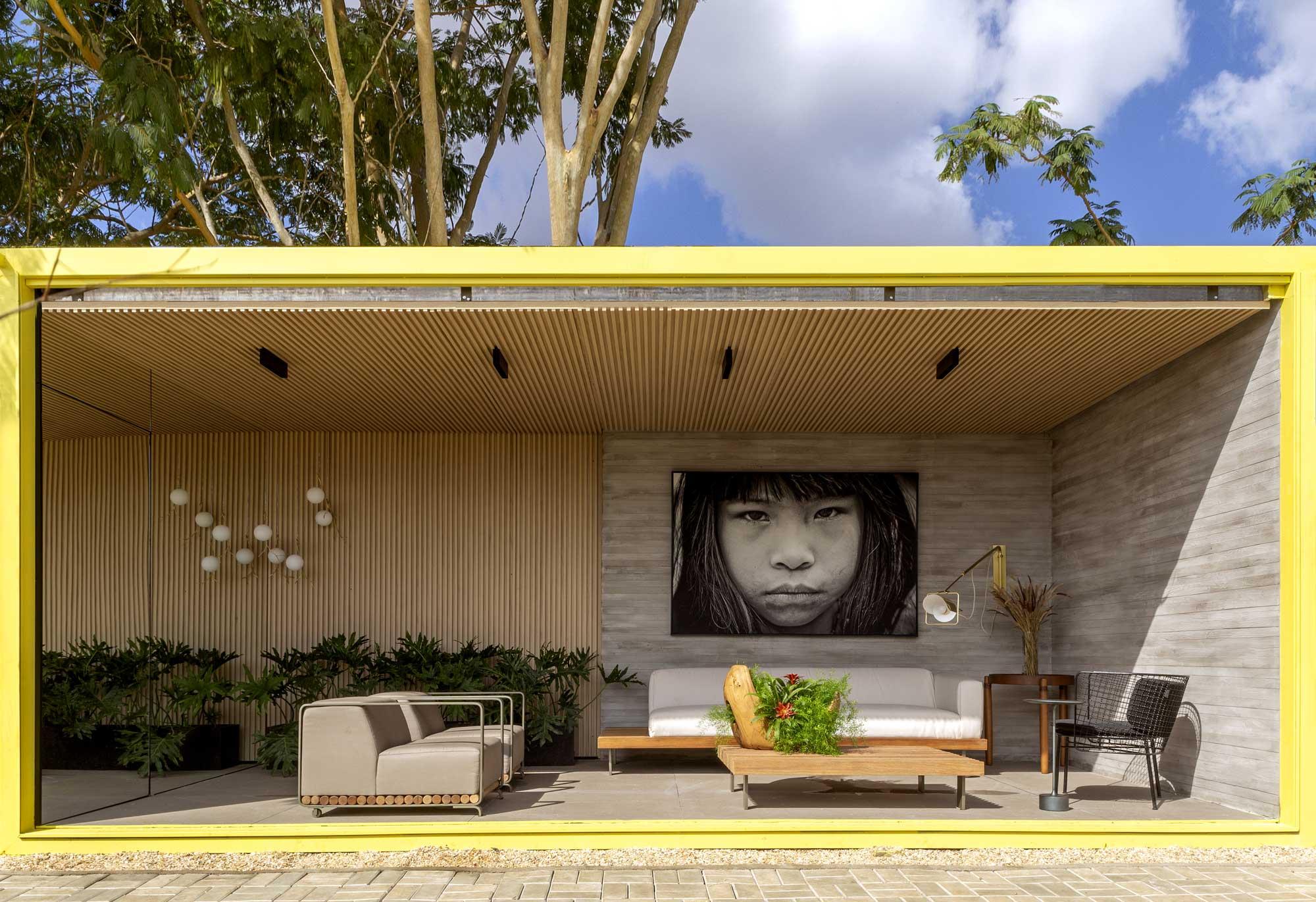 janelas casacor tocantins; terraço; decoração; fotografia;