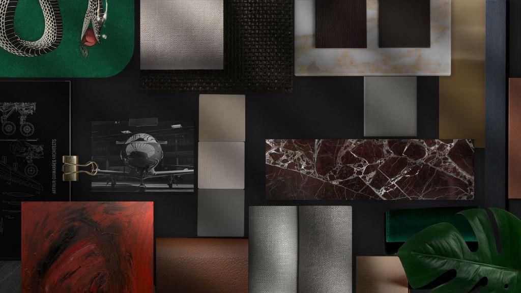 moodboard; Arthur Guimarães; elenco CASACOR São Paulo; arquitetura; decoração