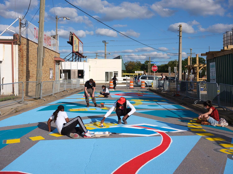 mural arte de rua arte pintura comunidade cidade cores nova york