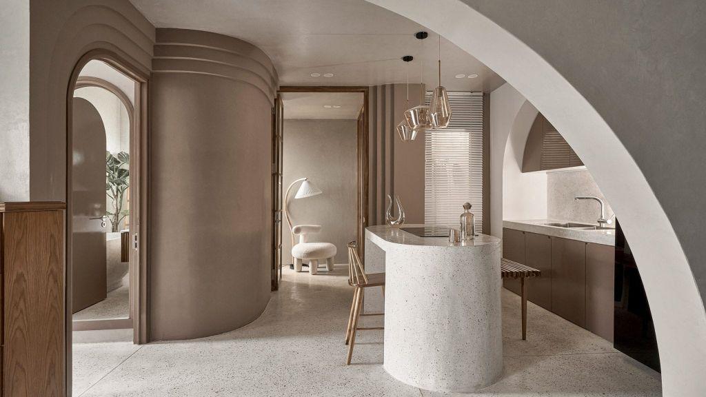 apartamento; decoração; arquitetura; vietna; paleta de cores claras;