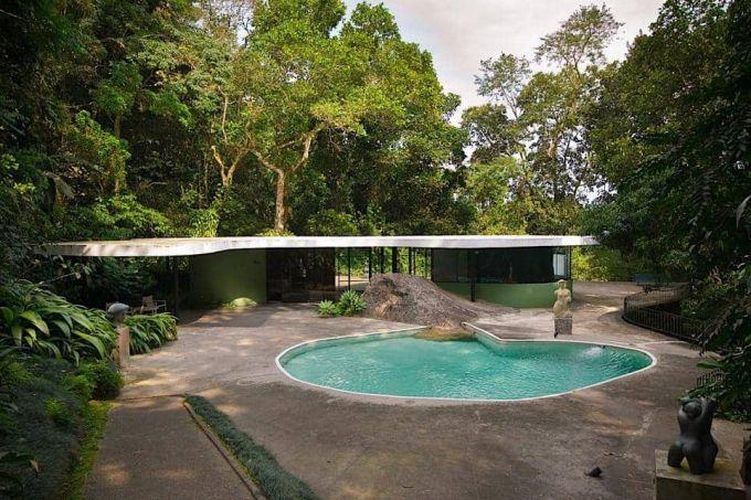 casa das canoas -Oscar-Niemeyer