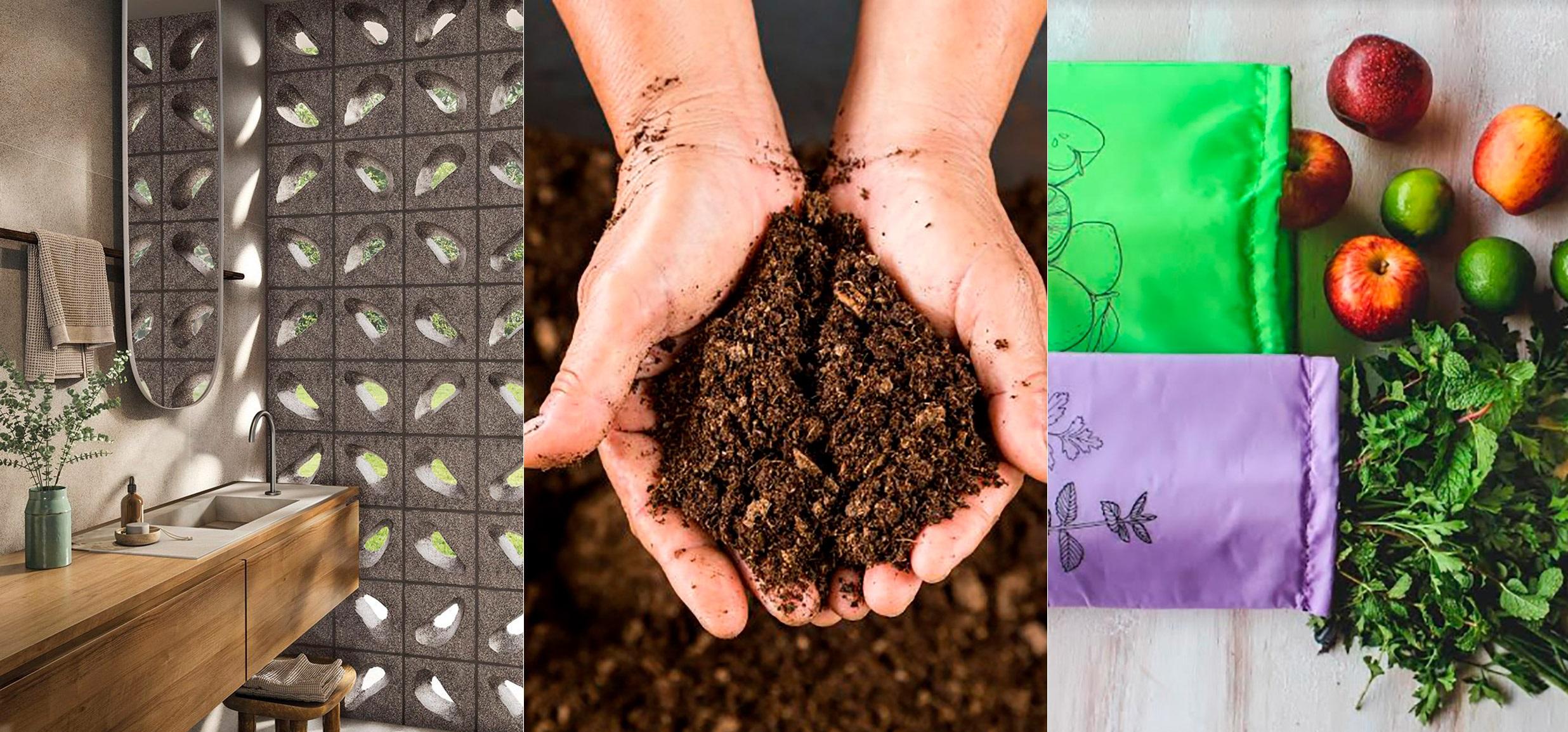 10 dicas para ser mais sustentável sem sair de casa