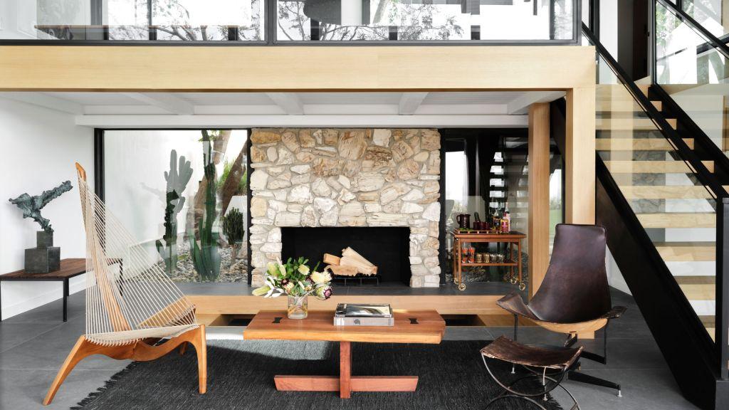 casa reformada em Malibu preserva sua arquitetura