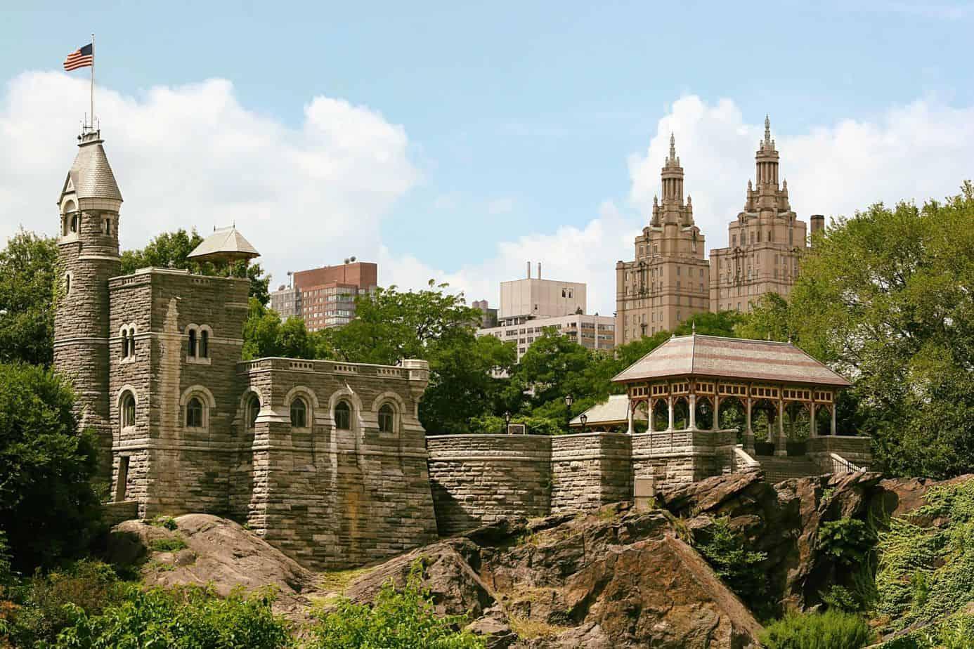 castelo belvedere central park paisagismo