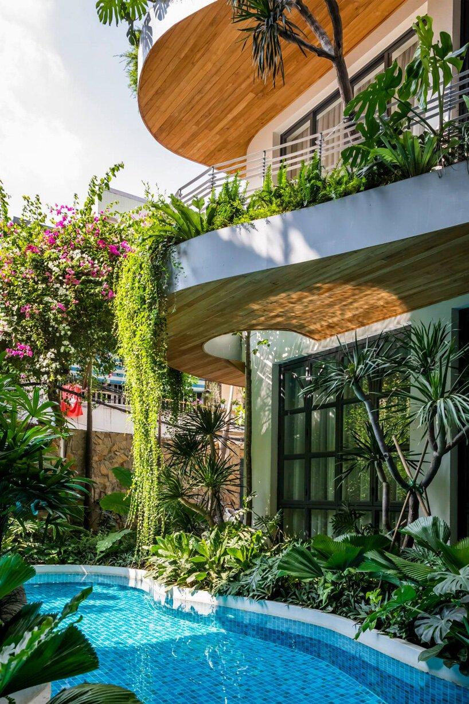 hotel city oasis vietna plantas tropicais