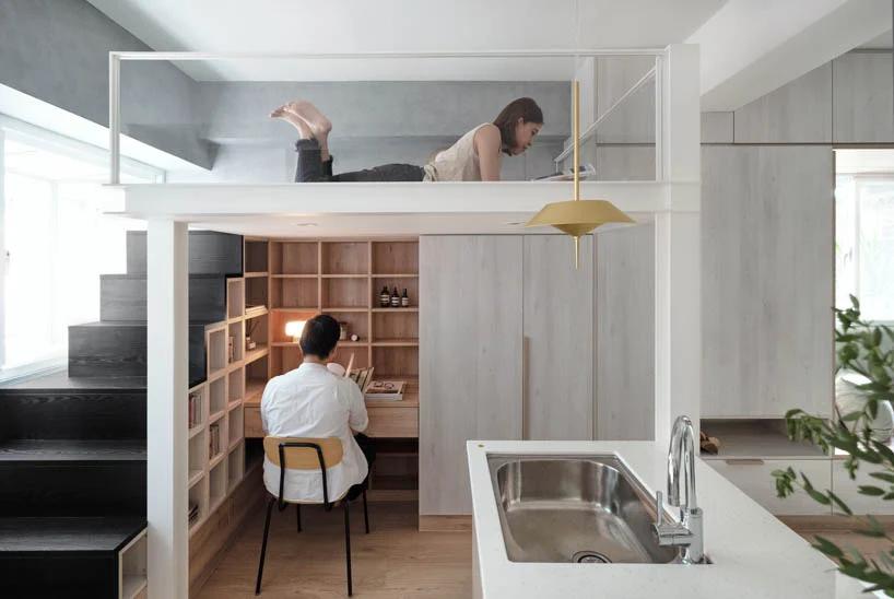 Projeto contou com espaços integrados e marcenaria para tornar a integração mais aconchegante