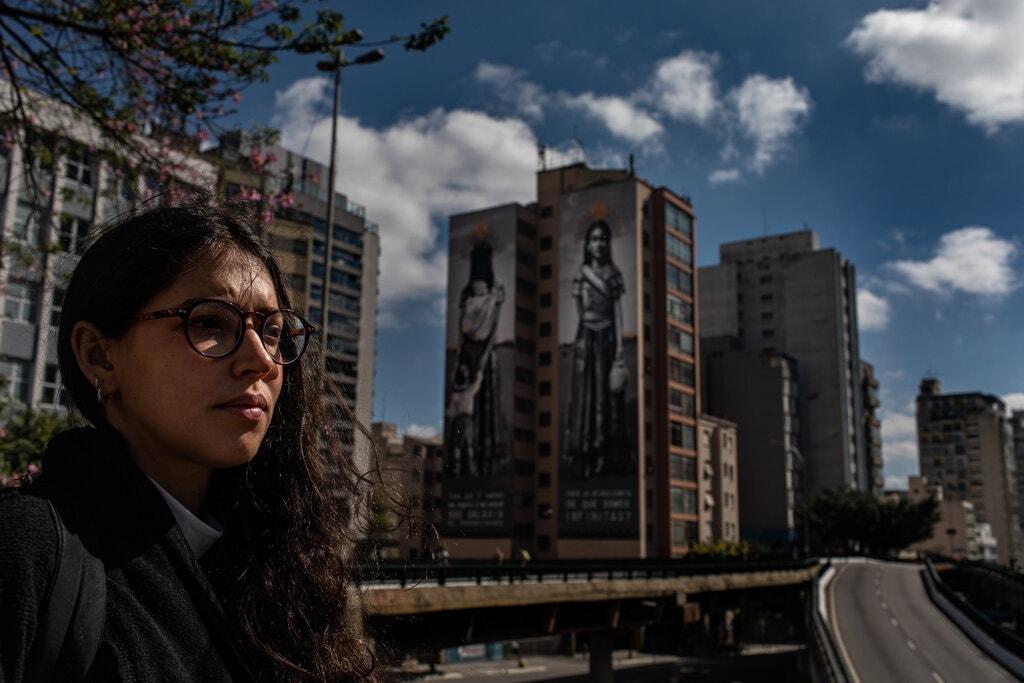 arte urbana; são paulo; grafite; muralistas; questões sociais e raciais