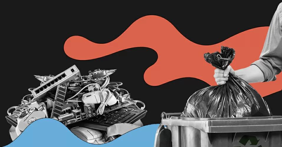 lixo eletronico; descarte; pontos de coleta; pilha; celular; computador; onde descartar lixo eletronico