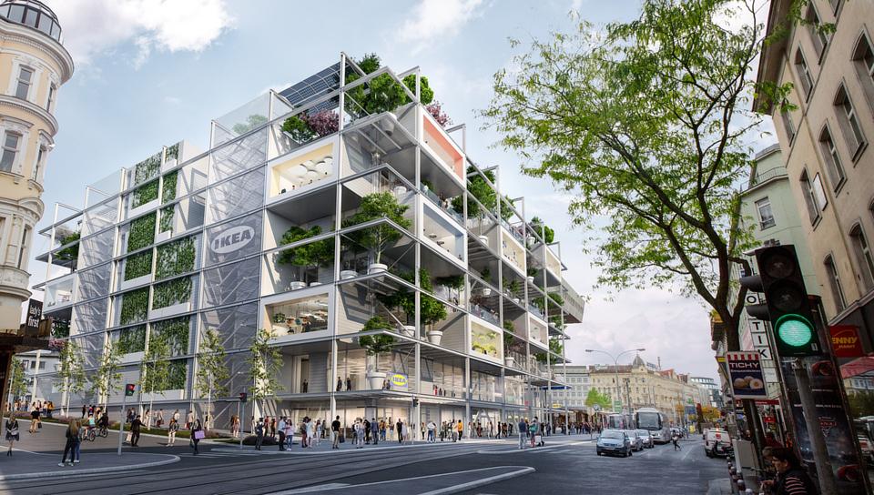 ikea austria viena loja sustentável modular