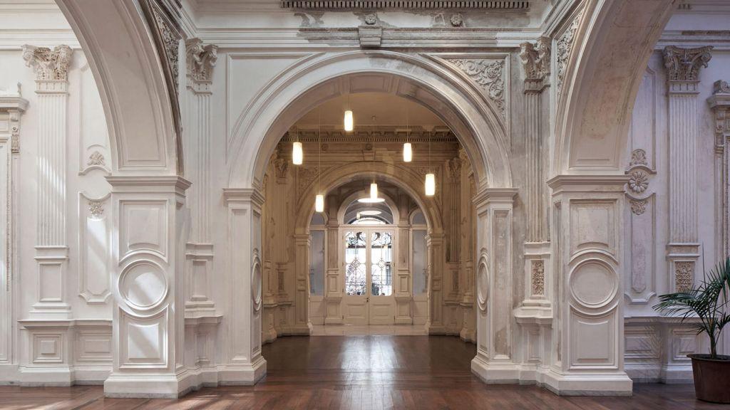 Entrada principal do Palácio Pereira nova sede do Ministério da Cultura