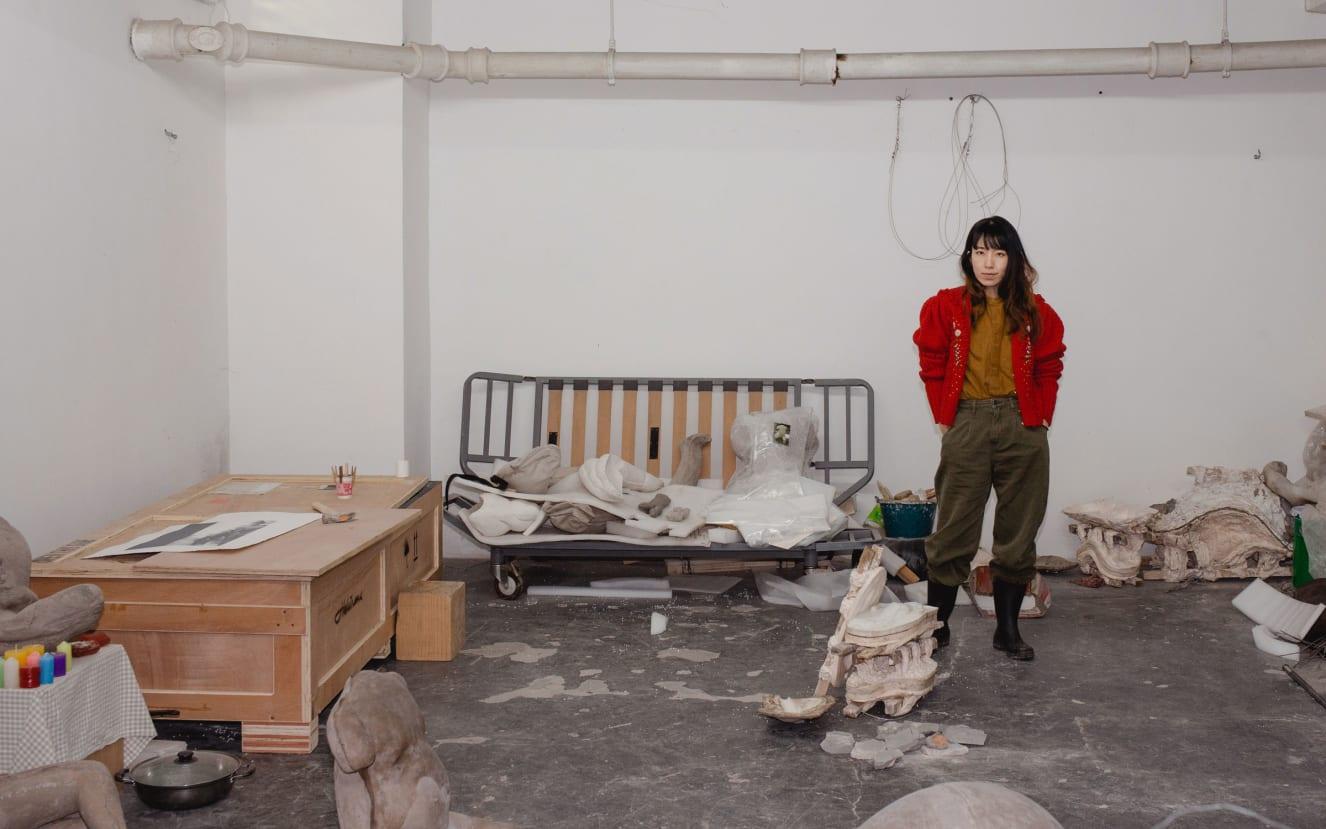 yu ji artista em rápida ascensão mundo da arte