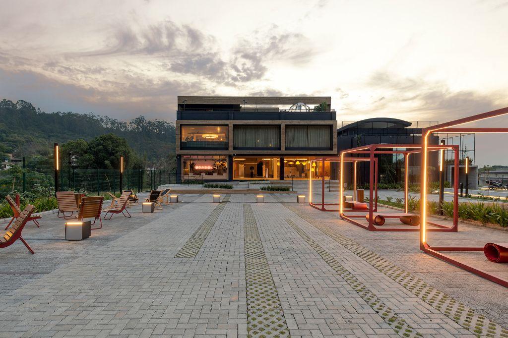 Quem cria nasce todo dia - Ana Trevisan   Paisagismo + Arquitetura. Projeto da CASACOR Santa Catarina 2021.