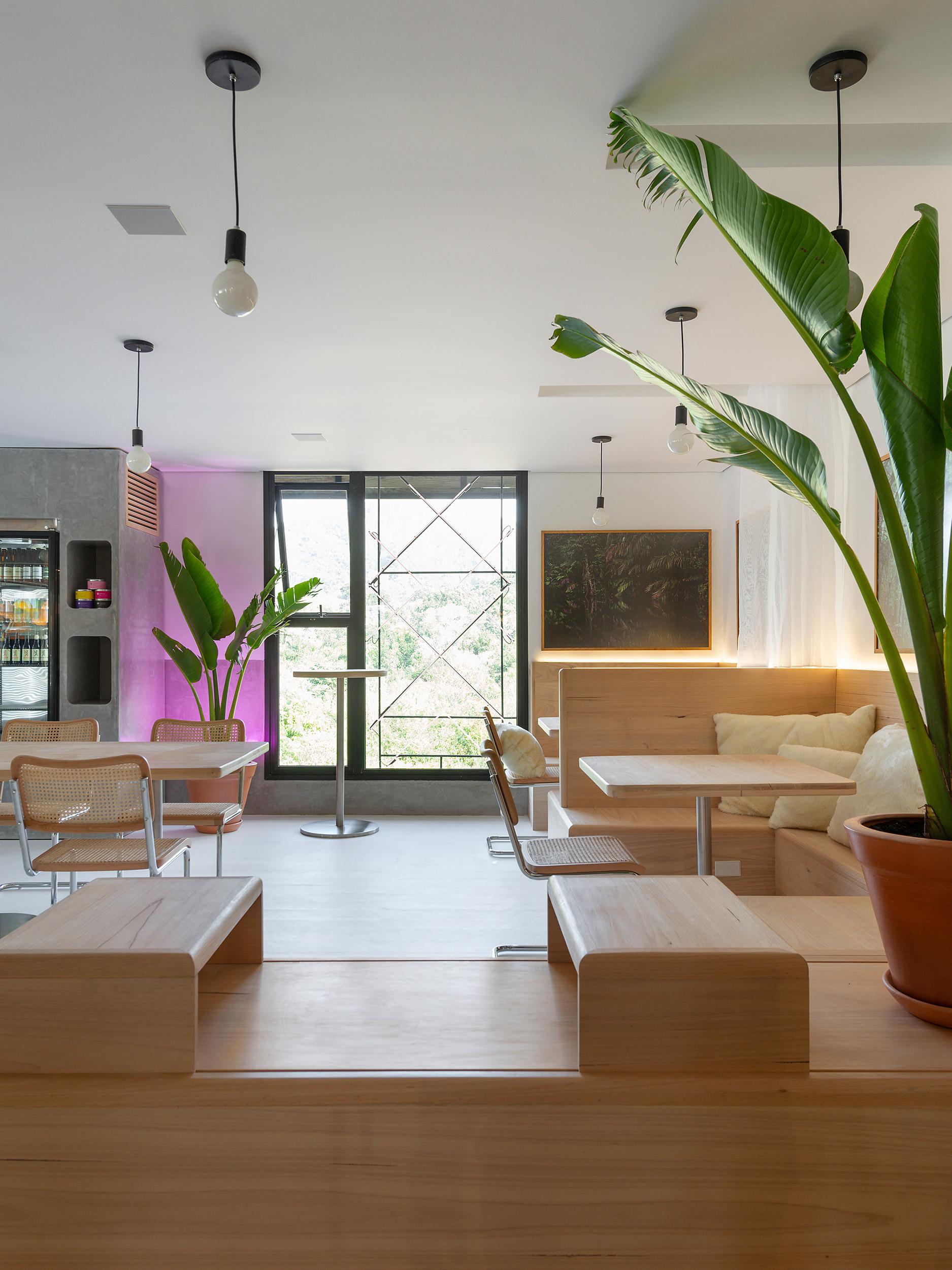 Café +UM - Emanuella Wojcikiewicz Studio. Projeto da CASACOR Santa Catarina 2021.