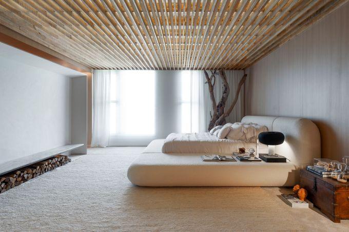 Quarto Suna Reveev  – Osvaldo Segundo & Arquitetos Associados