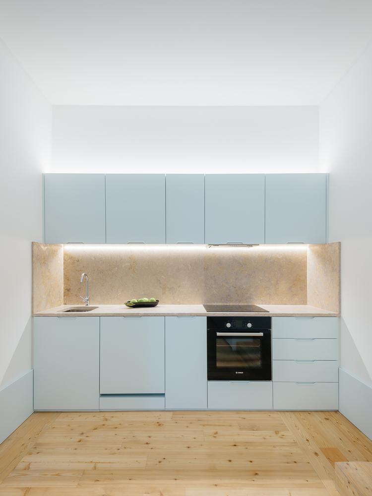 Cozinha minimalista por Aurora Arquitectos