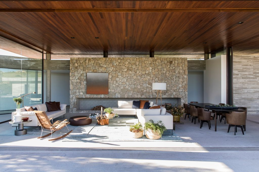 Casa das Pedras por Hueb Ferreira Arquitetos