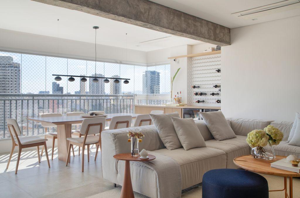 Apartamento assinado por Ticiane Lima