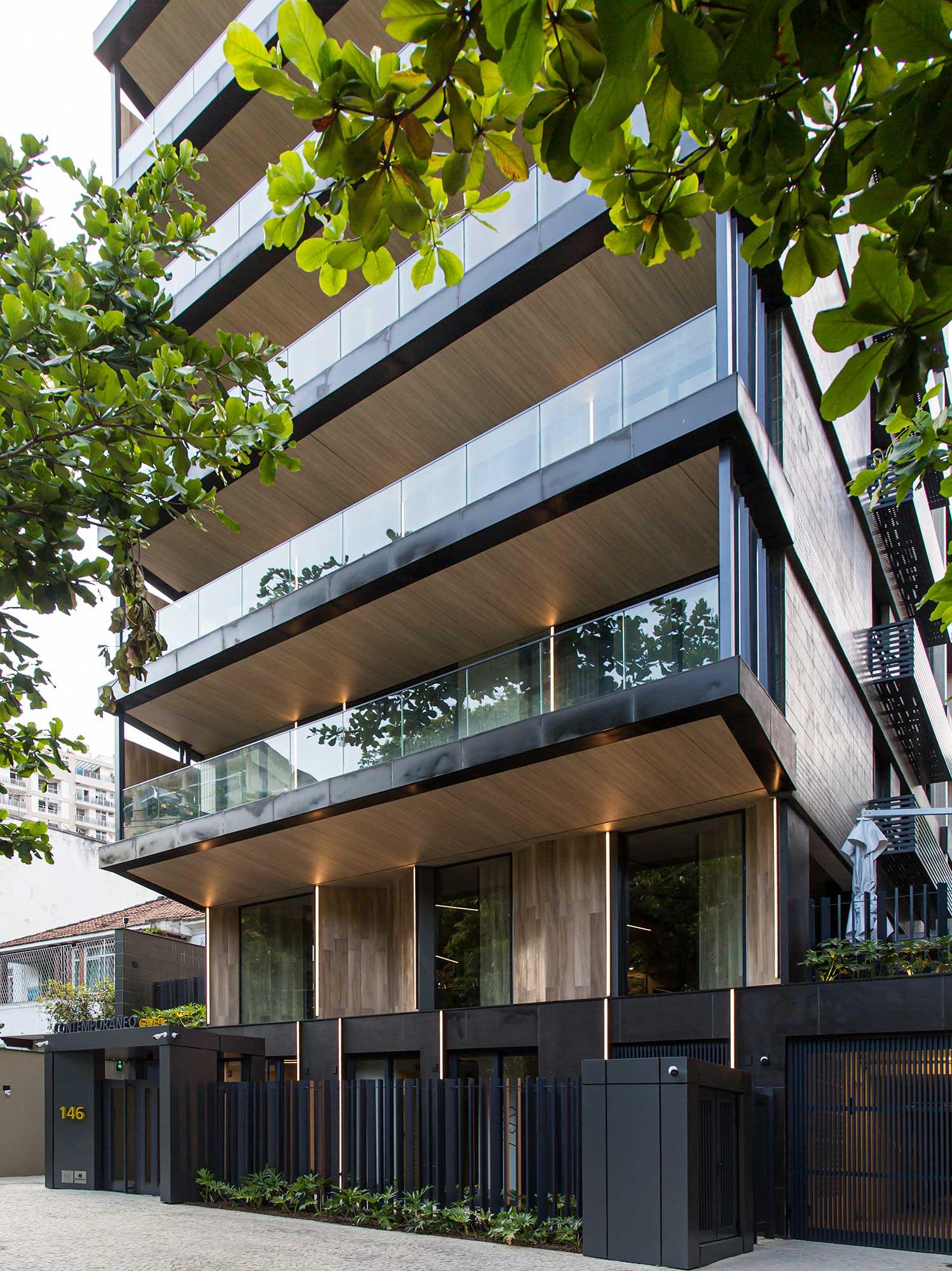 contemporaneo gávea prédio residencial rio de janeiro cité arquitetura