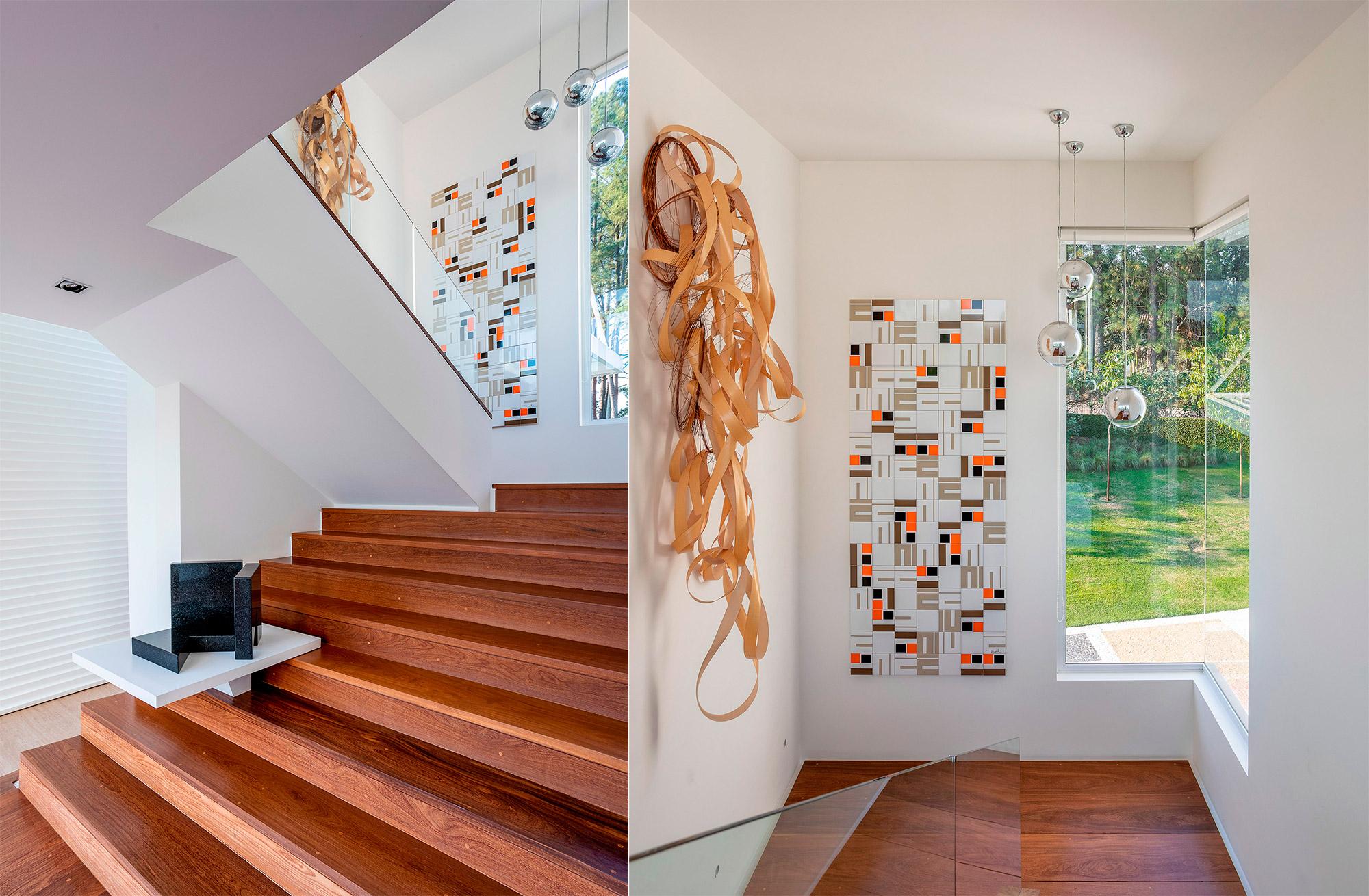 Patrícia Marinho assina os interiores da última casa projetada por seu pai, Noel Marinho