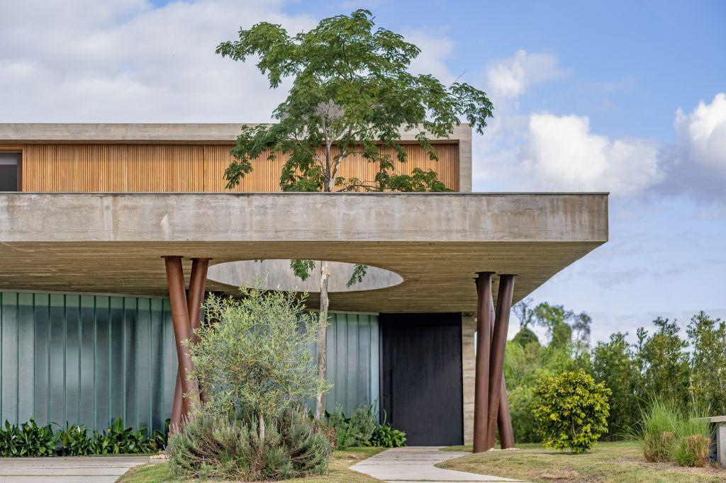 Projeto Stemmer Rodrigues em uma casa de 350 m2