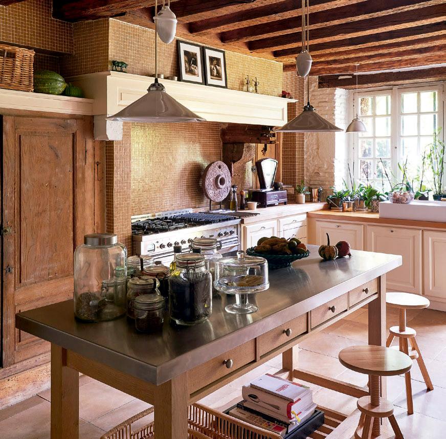 A casa charmosa de Jean de Just no interior da França