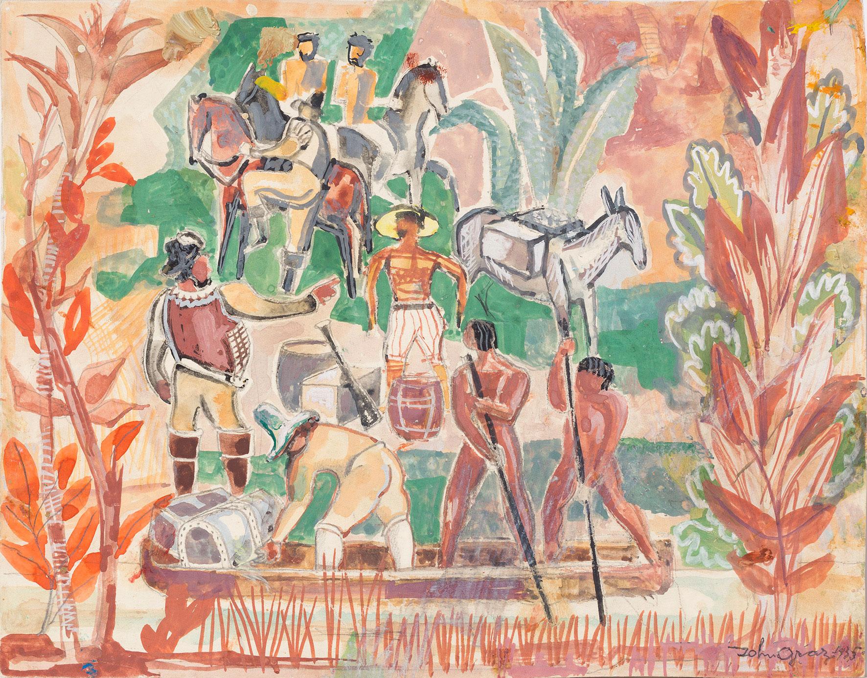 pinacoteca exposição john graz modernismo brasileiro inauguração abertura arte visual