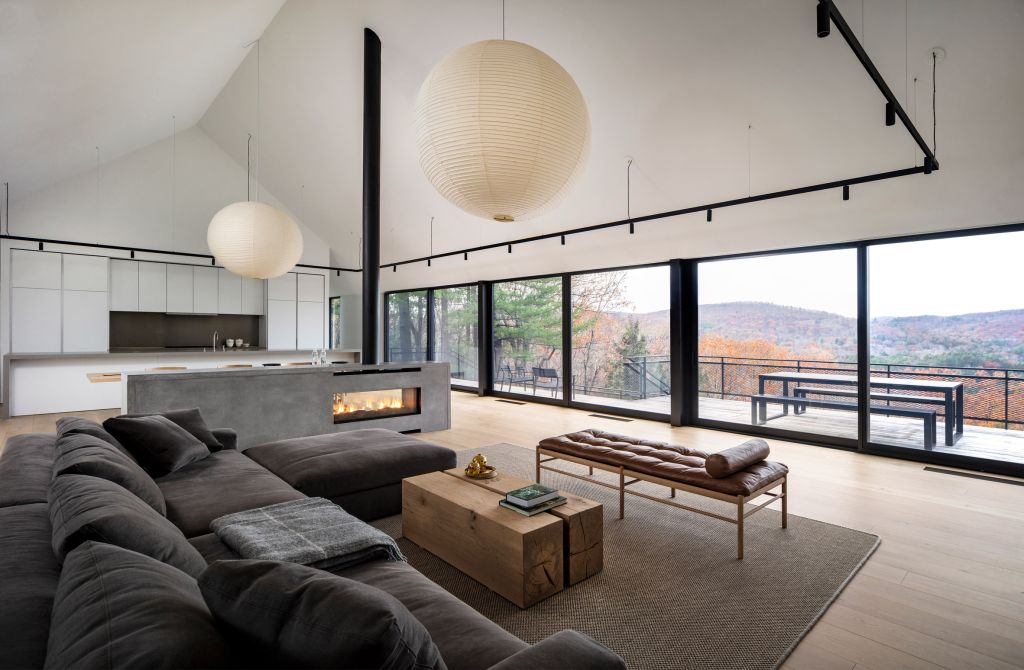 casa de campo em Connecticut