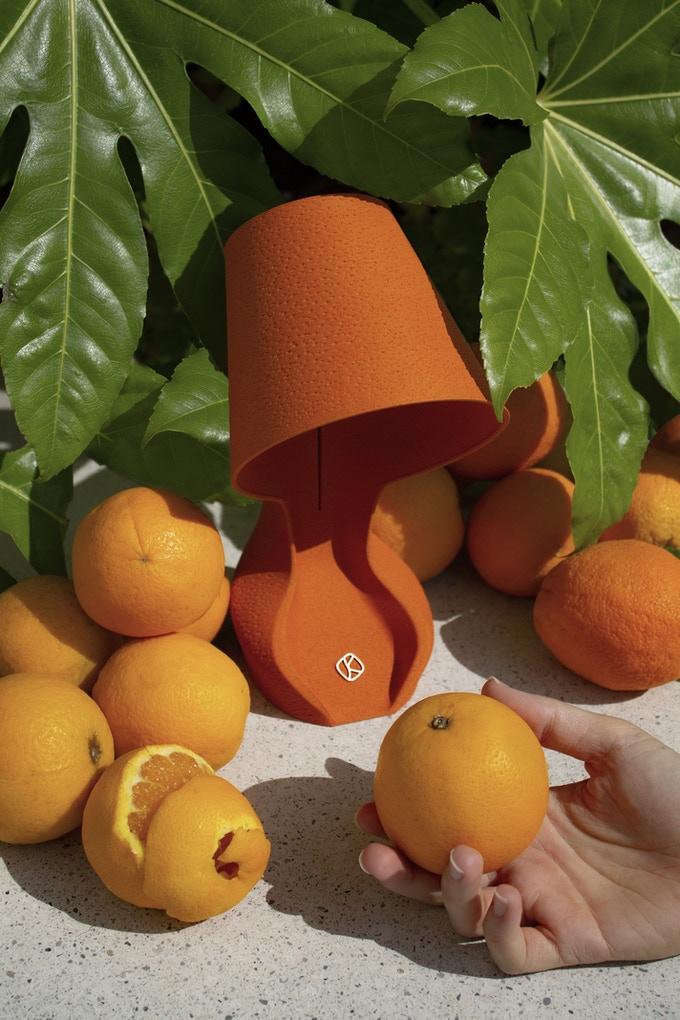 ohmie luminaria circular casca de laranja